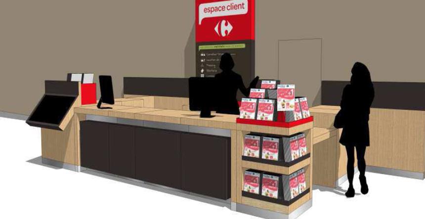 Espace clients Carrefour